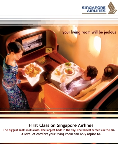 Singapore airlines marketing strategy